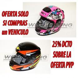 Oferta POR COMPRAR MOTO casco Asfalto Infantil
