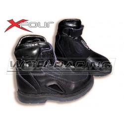 BOTAS X-Four Moto Infantiles -Negro-