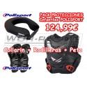Pack Protecciones Infantiles Polisport motocross -Alta calidad-