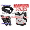 Pack Protecciones Adulto Polisport motocross -Alta calidad-