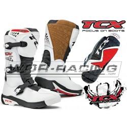 BOTAS TCX motocross Infantiles -Blanco-