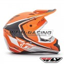 Casco FLY Kinetic Fullspeed -Naranja-