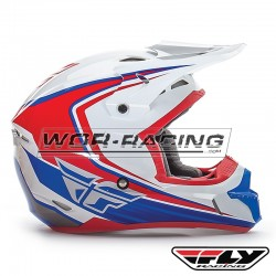 Casco FLY Kinetic Fullspeed -Blanco-