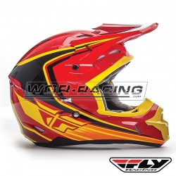 Casco FLY Kinetic Fullspeed -Rojo-