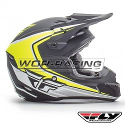 Casco FLY Kinetic Fullspeed -Fluor-