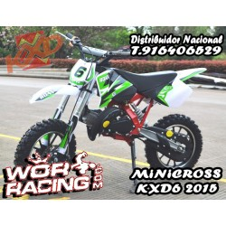 MINI CROSS KXD6 moto infantil (5 Años)