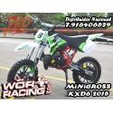 MINICROSS KXD6 moto infantil (5 Años)