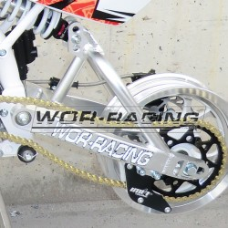Basculante_cantilever_regulable_Aluminio_400mm_rueda_10_miniGP_alevin_90_pitbike