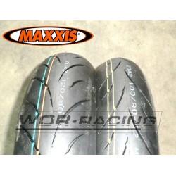 "Kit neumaticos MAXXIS R1 - 12"" - Pitbike GP Minimotard"