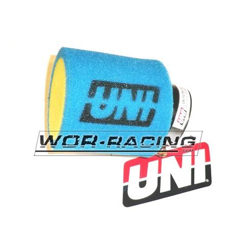 Filtro de potencia 51mm Aire pitbike - UNI Racing - Azul