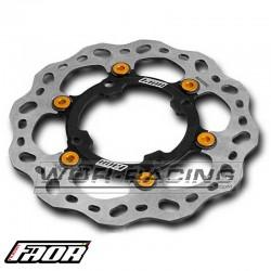 Disco Freno FAOR - SDG 240x76 Flotante - Pitbike y GP