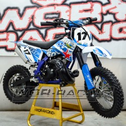MINI Moto CROSS IMR MX 50cc 9cv infantil 2019 mini sx50 Azul