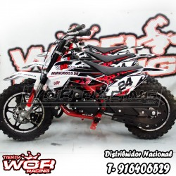 KIT Regulacion altura moto MINI CROSS KXD infantil