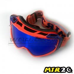 Gafas de Motocross MTR2 - OR (Naranja / Azul)