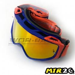 Gafas de Motocross MTR2 - OR (Azul-Naranja)