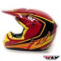 Casco Infantil FLY Kinetic Fullspeed -Rojo-