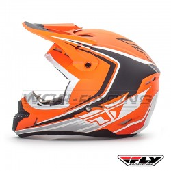 Casco Infantil cross FLY Kinetic Fullspeed -Naranja-