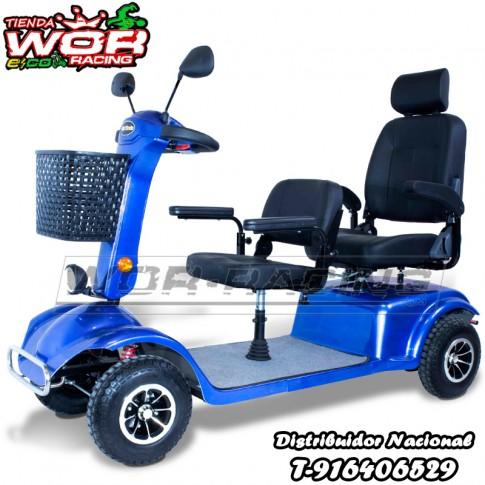 scooter_electrico_discapacitados_TURTLE_60_coche_de_bateria_ancianos_800w_Azul_dos_personas