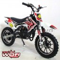 MINICROSS RN 49 cc moto infantil (5 años).