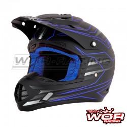 Casco motocross AFX FX-17 Mainline - AZUL