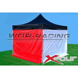 Carpa plegable 3x3 - Aluminio colores LISOS