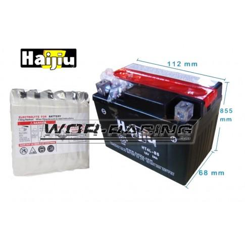 Batería sellada 12v HTX-4L-BS  - HAIJIU