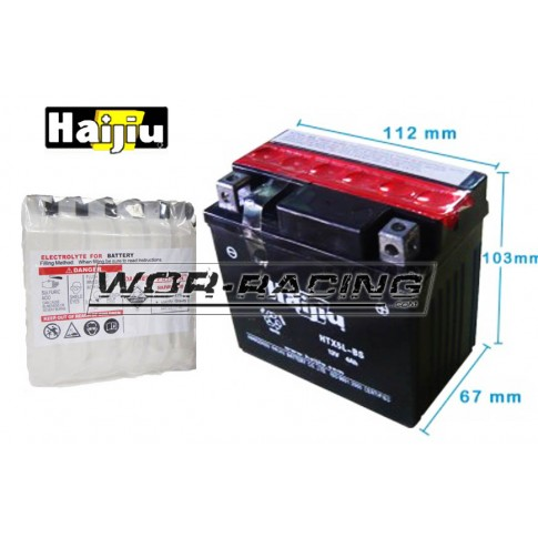 Batería sellada 12v HTX-5L-BS  - HAIJIU