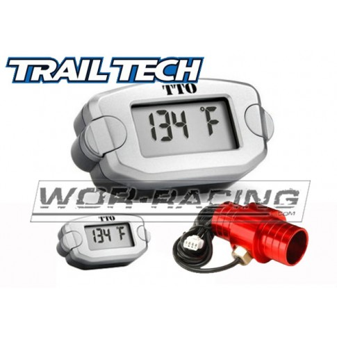 Reloj Temperatura TRAIL TECH Tto Refrig. Agua - 25mm