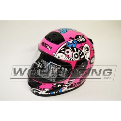 Casco FREEGUN KID -Carretera SHOT- Rosa