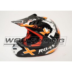Casco Cross RN Infantil MX -Naranja-