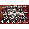 Guantes Cuero X-Four Junior -Blanco-