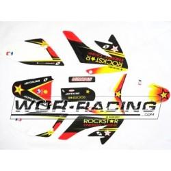 Kit Adhesivos CRF 70 -Rockstar- Pitbike