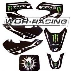 Kit Adhesivos KLX / KX -Monster Army- Pitbike