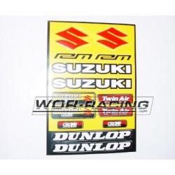 Kit Adhesivos Suzuki -Hoja A4-